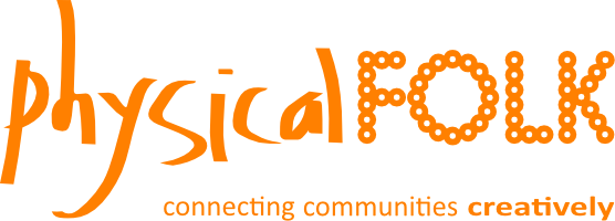 Physical Folk Orange Logo